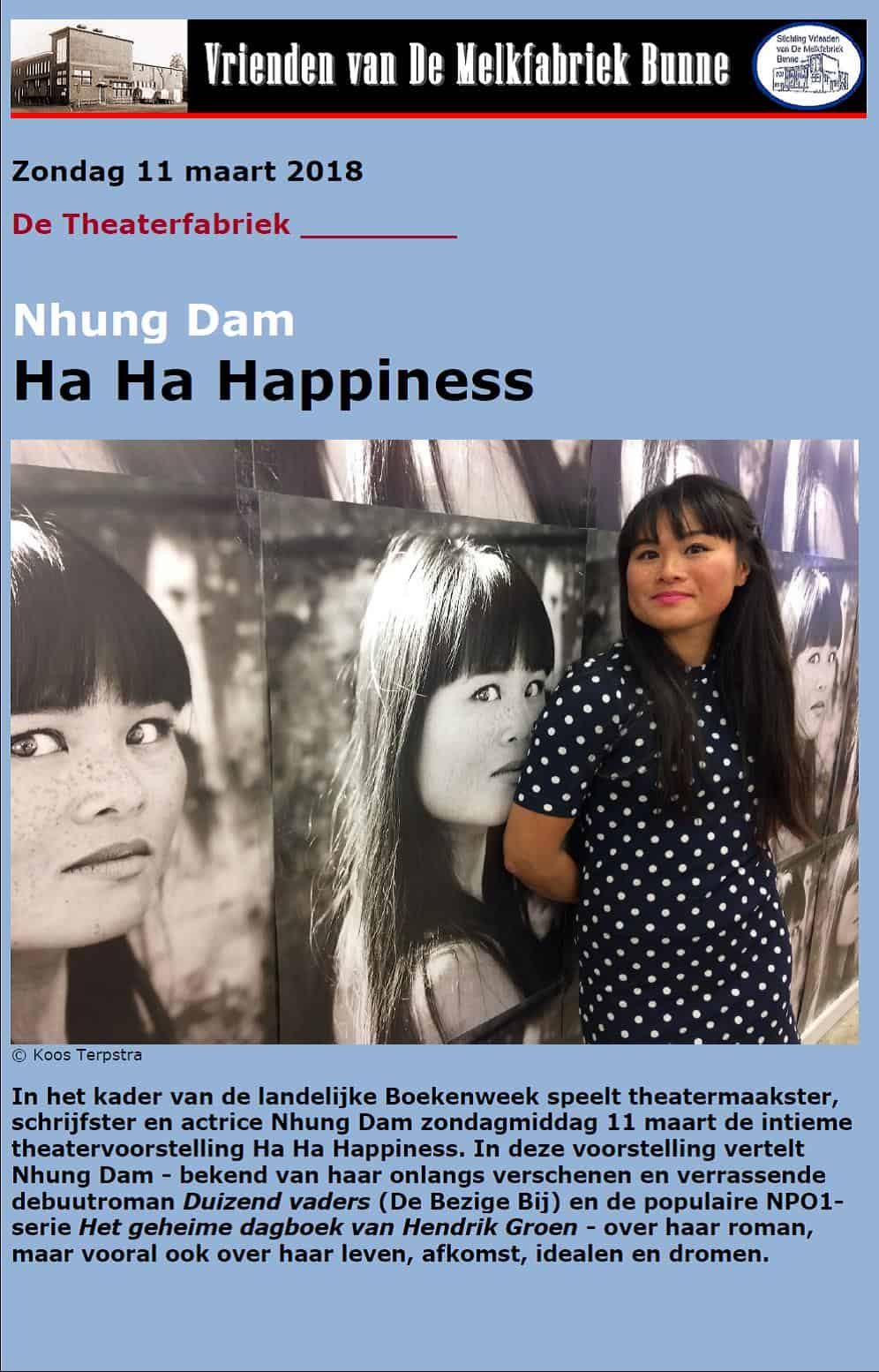 Ha Ha Happiness @ De Melkfabriek (Theaterfabriek)